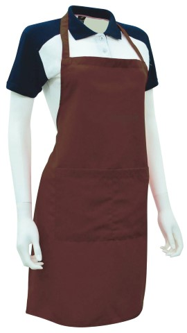Ready Made Apron Drak Brown