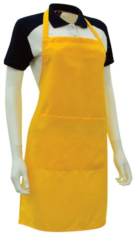Custom Made Apron Golden Yellow