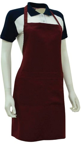 Ready Made Apron Maroon