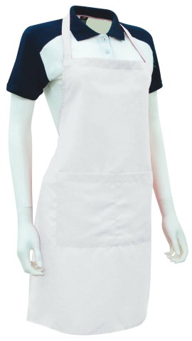Custom Made Apron White