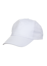 Cap Baseball 5 panel White