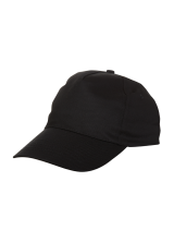 Cap Baseball 5 panel Black