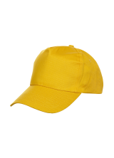 Cap Baseball 5 panel Yellow