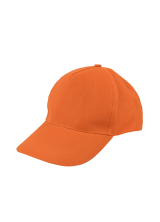 Cap Baseball 5 panel Orange
