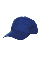 Cap Baseball 5 panel Royal Blue