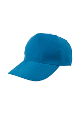 Cap Baseball 5 panel Sea Blue