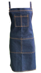 Personalized Denim Apron