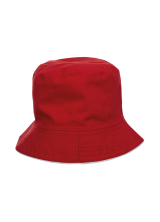 Fishermen Hat Red Black