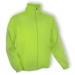 Custom Windbreaker Neon Yellow