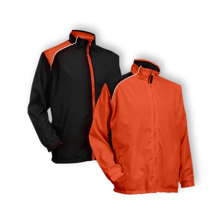 Reversible Winbreaker Jacket WR03 Orange