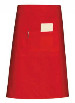 Half Body Apron Red
