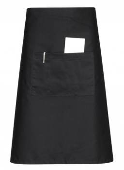 Half Body Apron Black