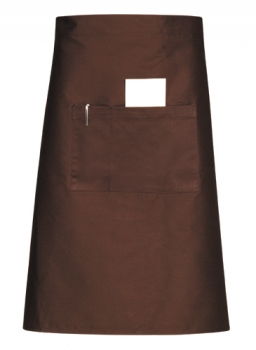 Half Body Apron Brown