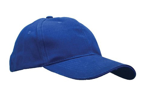 baselball 5 panel cap royal blue