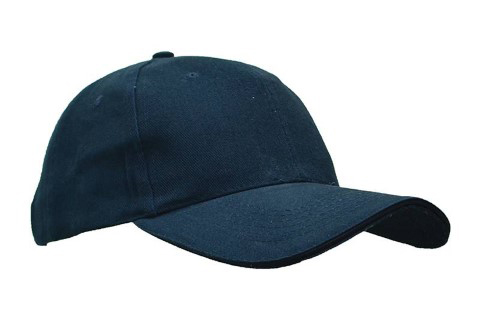 baselball 5 panel cap navy