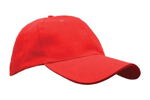 baselball 5 panel cap red