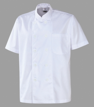 Chef Uniform White Short Sleeve