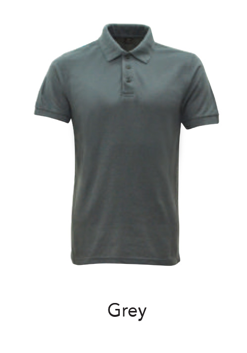 Collar Shirts Polo Grey