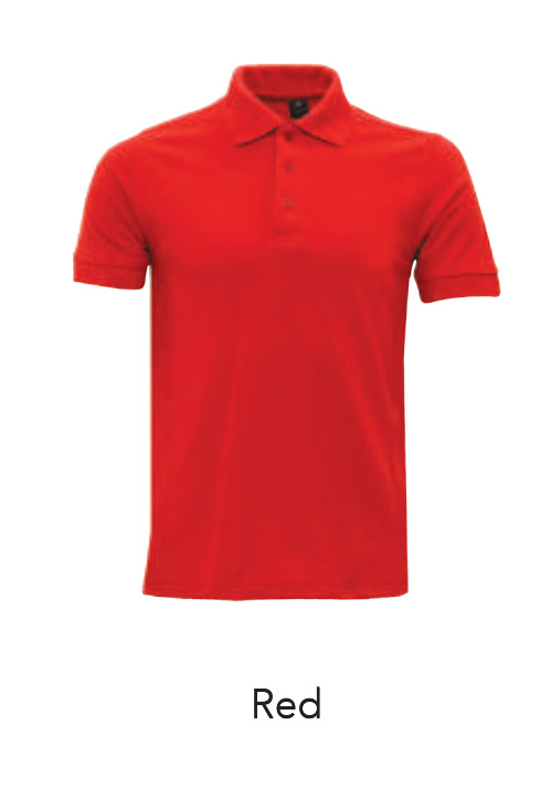 Collar Shirts Red