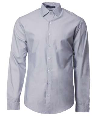 Corporate Shirt Long Sleeve Grey