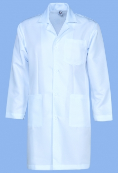 Lab Coat Polyester Long Sleeve