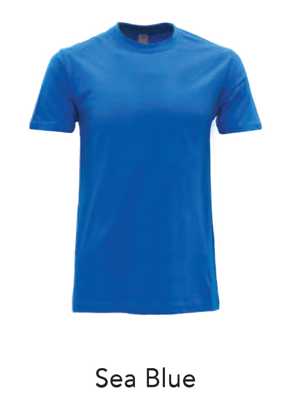 Jersey Tshirt Sea Blue
