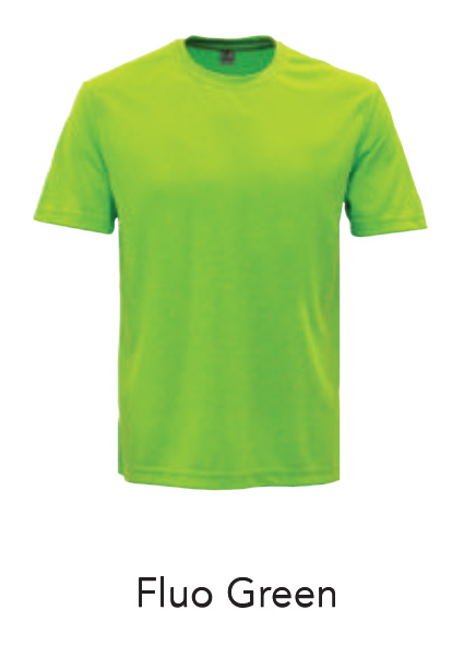 Jersey Tshirt Fluo Green