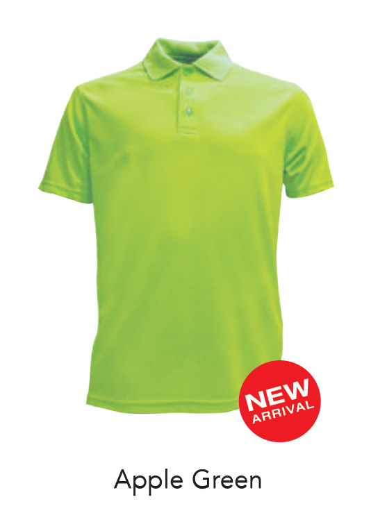 Ready Made Microfiber Polo Shirts Apple Green