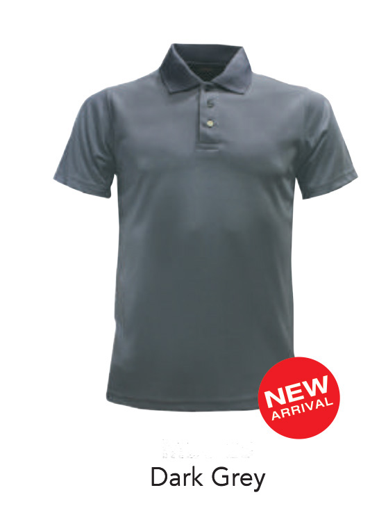 Ready Made Microfiber Polo Shirts Dark Grey