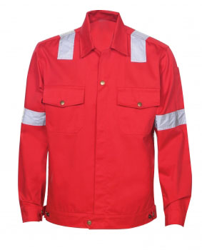 Reflective Jacket Red