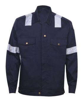 Reflective Jacket Navy Blue