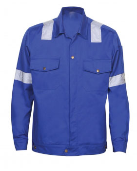 Reflective Jacket Royal Blue