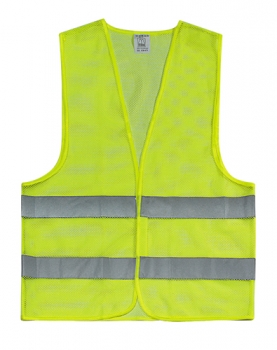 Safety Vest Netting Yellow