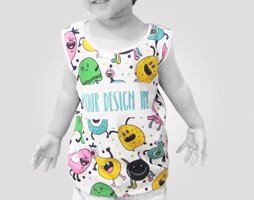 sublimation tank top kids