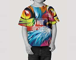toddler sublimation t shirt