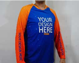 sublimation raglan long sleeve