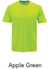 Tshirt Round Neck Apple Green