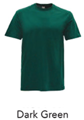 Tshirt Round Neck Dark Green