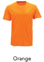 Tshirt Round Neck Orange