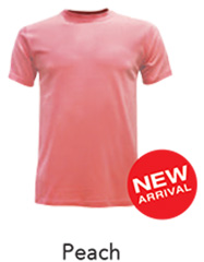 Tshirt Round Neck Peach