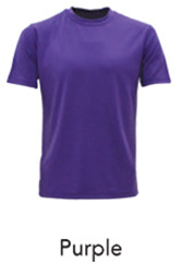 Tshirt Round Neck Purple