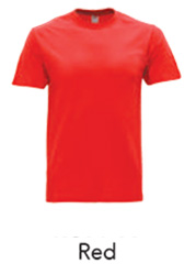 Tshirt Round Neck Red