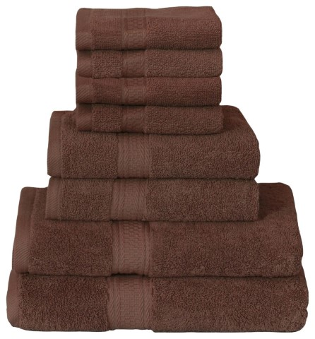 Dark Brown Towel SPA Salon Towel